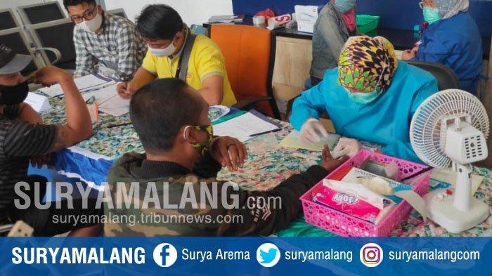 Rapid Test di Stasiun Malang, 51 Penumpang Non-Reaktif