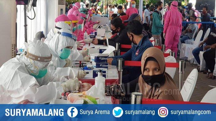 3 Orang Dalam Satu Keluarga di Gubeng Surabaya Meninggal Diduga Karena Covid-19, Rapid Test Massal