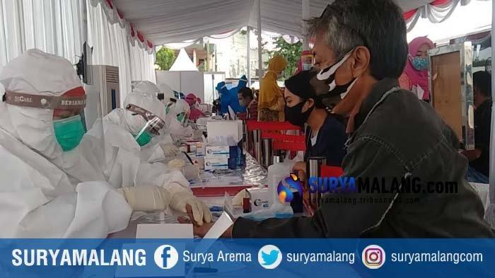 Rapid Test Massal oleh BIN dan Pemkot Surabaya Membludak