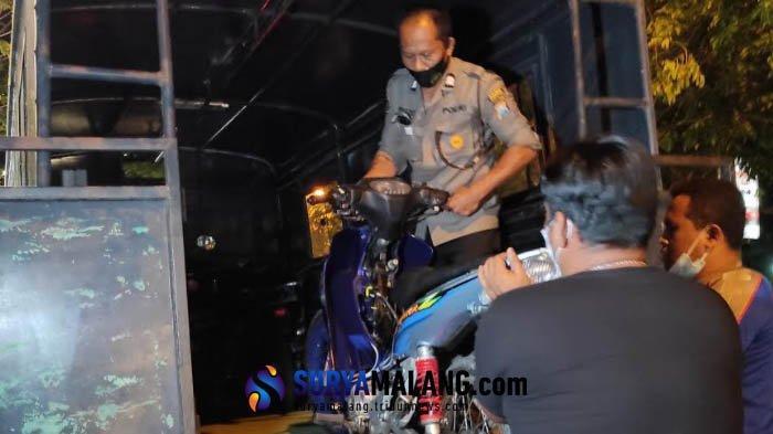 Balap Liar Sore Resahkan Warga Ponorogo, Polisi Amankan 19 Motor Knalpot Brong