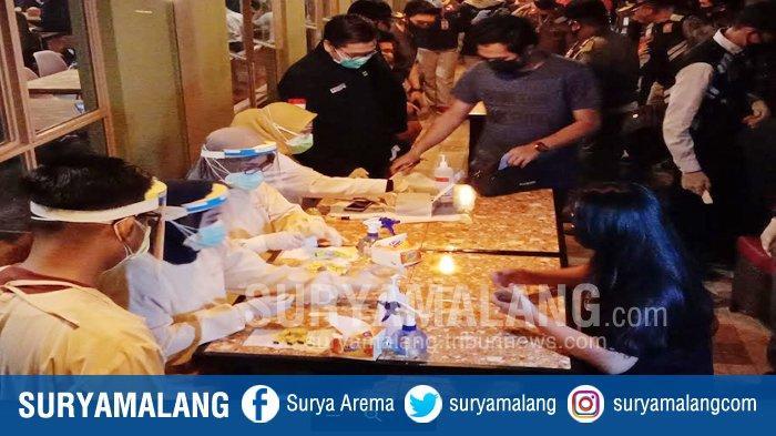 Penindakan Disiplin Protokol Kesehatan Oleh Forkopimda Kota Malang, Sasar Pengunjung & Pegawai Kafe