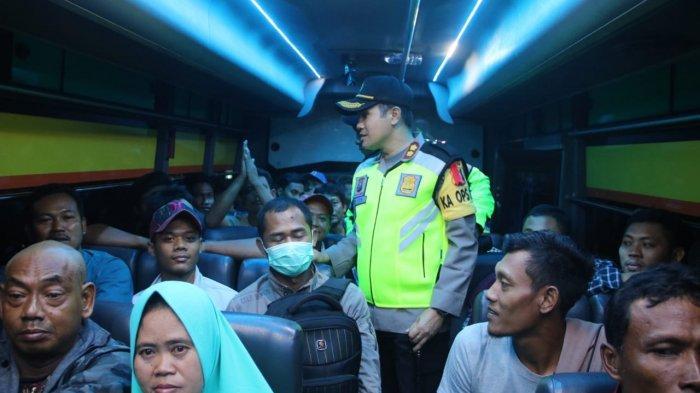 Cegah Mobilisasi People Power, Polres Bojonegoro Razia Semua Kendaraan Di Jalanan