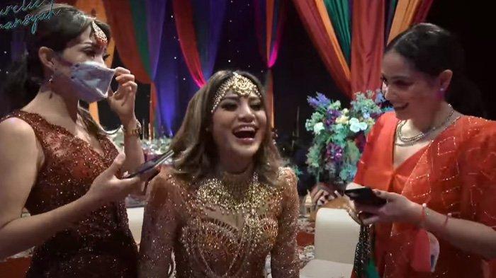 Reaksi Aurel ditanya jadi nikah Nagita Slavina