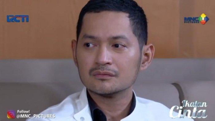 Reaksi Nino syok diusir Andin adegan sinetron Ikatan Cinta Jumat 9 Juli 2021