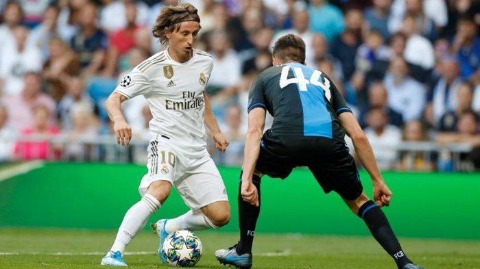 Hasil Skor Real Madrid Vs Club Brugge Adalah 2-2 Liga Champions, Madrid Nyaris Malu Lawan 10 Pemain
