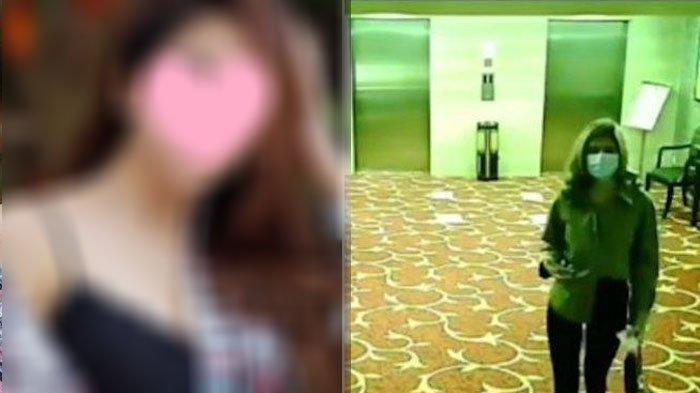 Rekaman CCTV Artis ST dan SH Masuk Kamar Hotel untuk ProstitusiOnline, Wajah Mereka Terlihat Jelas