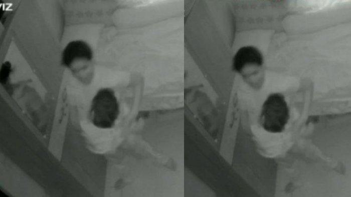 Tingkah Mengerikan Pengasuh ke Anak Terekam CCTV, Siksa Anak Majikan Sambil Nyanyi, Sang Ibu Syok