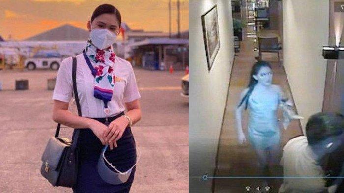 Rekaman CCTV Pramugari Cantik Sebelum Dibunuh Saat Pesta, Pernah Menang Kontes Kecantikan Filipina