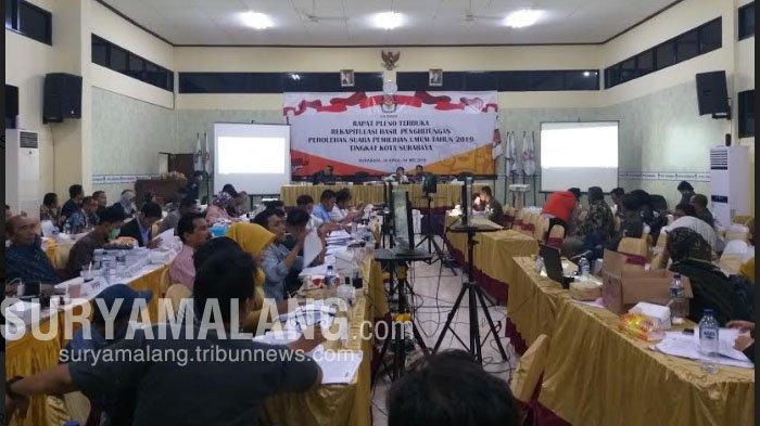 KPU Kota Surabaya Akan Umumkan Caleg Terpilih Bulan Juni, Berikut Nama Yang Berpotensi Lolos