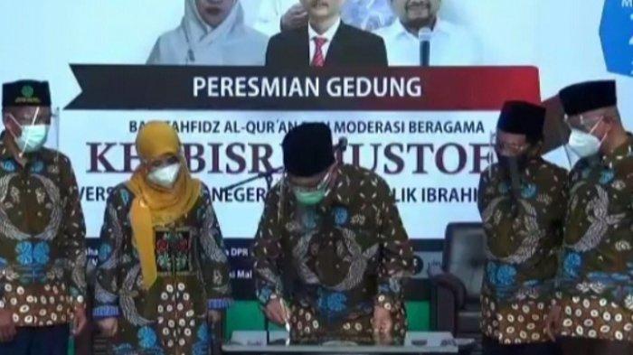 Gedung Tahfidz Al Quran FKIK UIN Malang Diberi Nama KH Bisri Mustofa, Kakek Menag
