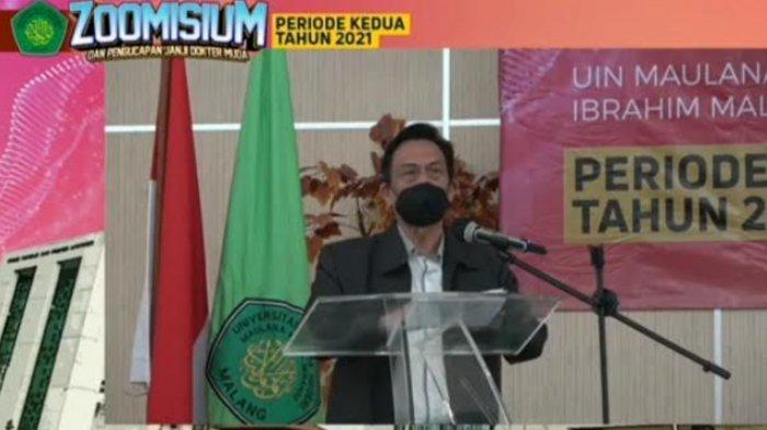 Rektor Prof Dr Zainuddin Harapkan FKIK UIN Maliki Malang Jadi Barometer di Indonesia