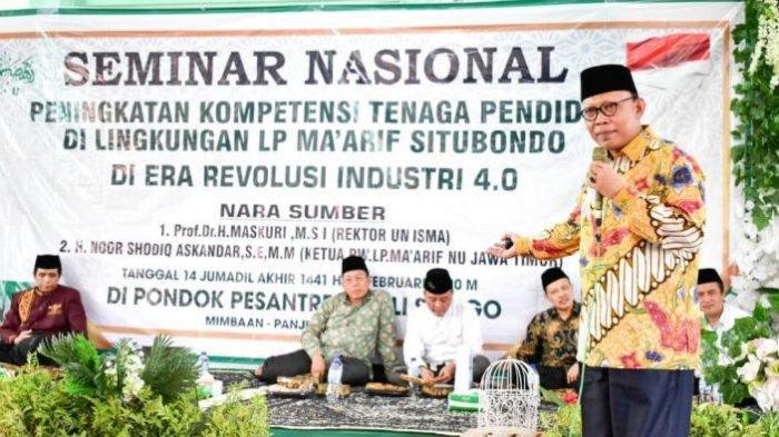 Peningkatan Kompetensi Guru di Era 4.0, Rektor Unisma Kunjungi Kabupaten Situbondo