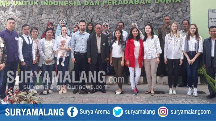 Universitas Islam Malang Kedatangan 10 Mahasiswa Uzbekistan