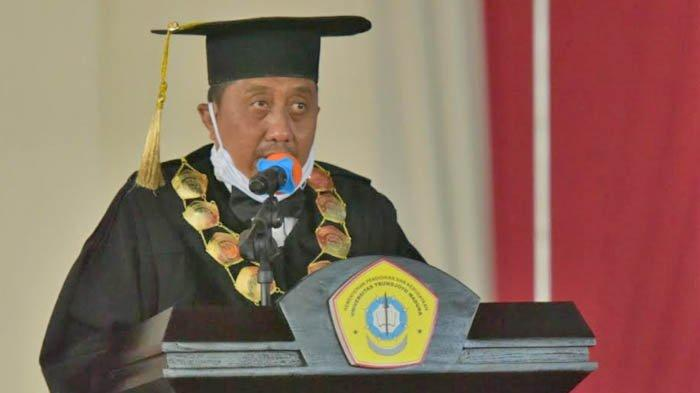 Rektor UTM, M Syarif, Positif Covid-19, Sempat ke Jakarta Sepekan Sebelum Gelar Wisuda