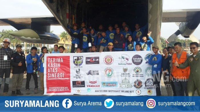 Komunitas Malang Satu Jiwa Berangkatkan Bantuan ke Palu, 23 Relawan juga Siap Bertugas