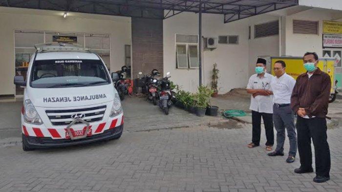Prosesi Pelepasan Relawan Tenaga Kesehatan yang Berjasa Dalam Penanganan Covid-19 Kota Kediri