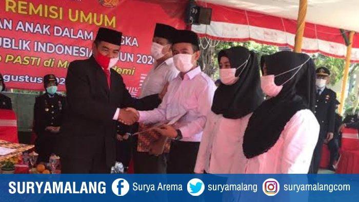 Lapas Kelas I Malang Lowokwaru Gelar Parade Nusantara dan Pemberian Remisi Umum HUT RI Ke 75
