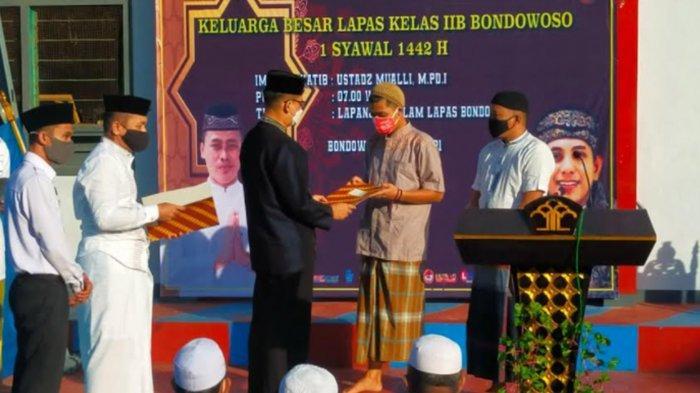 189 Napi Lapas Bondowoso Dapat Remisi Hari Raya Idul Fitri 1442 H