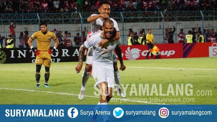 Momen Haru Persebaya di Kandang Arema FC, David da Silva sampai Menangis