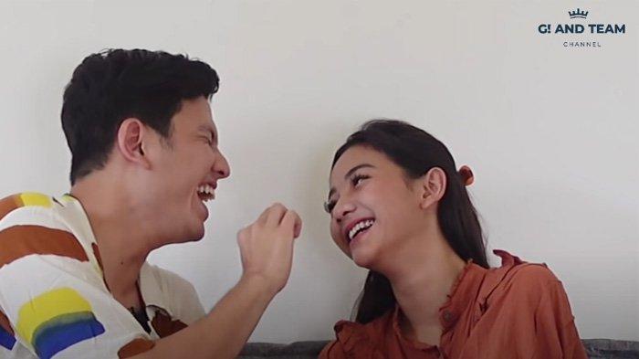 Rendi Jhon dan Glenca Chysara saat ngobrol di Youtube G! and team tayang Jumat 6 Agustus 2021