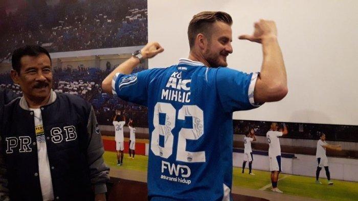 Pemain Asing Baru Persib Bandung Rene Mihelic Ternyata Belum Tanda Tangan Kontrak, Masih Trial
