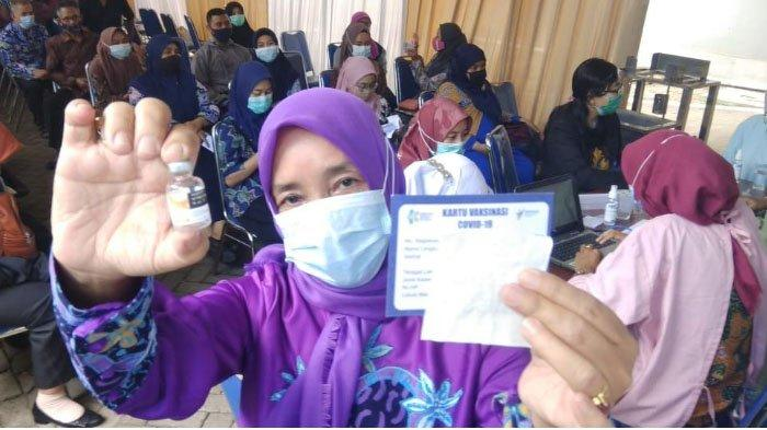 Dinkes Ungkap 4 Persen Guru di Sidoarjo Menolak Vaksinasi Covid-19, Ini Sebabnya