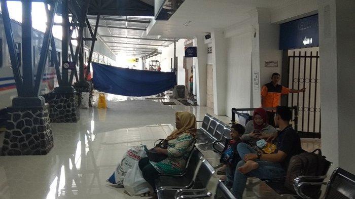 Antisipasi Lonjakan Penumpang, KAI Daop VII Perluas Ruang Tunggu Di Stasiun Kota Blitar