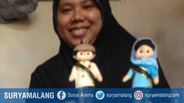 Boneka Flanel Karya Retno Pernah Diabaikan Risma, Kini Jadi Jujukan Bule dan Suvenir Asian Games