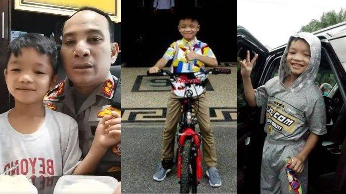 Foto-foto Revan Bocah Viral Dibuang Ibu karena Nakal, Jadi Anak Kapolres Hidupnya Berubah Drastis