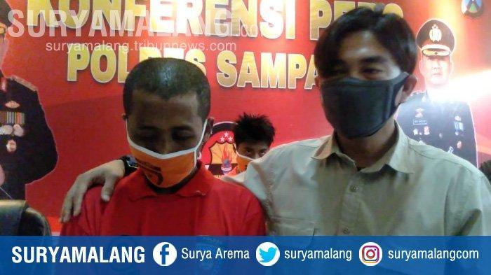 Riadi Suber tega menyetubuhi anak tirinya di Kabupaten Sampang.