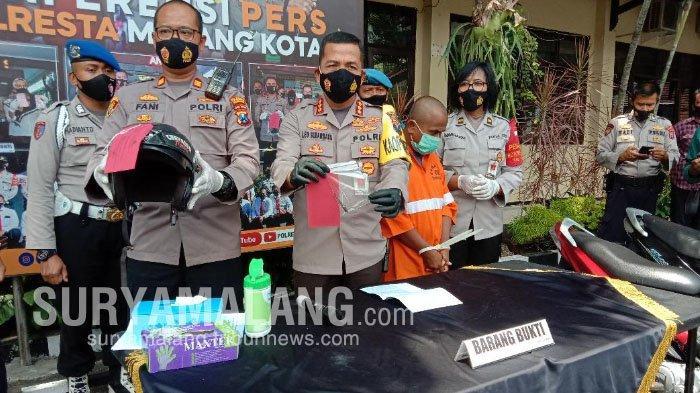 Identitas Maling Motor yang Sudah Beraksi 11 Kali di Kota Malang