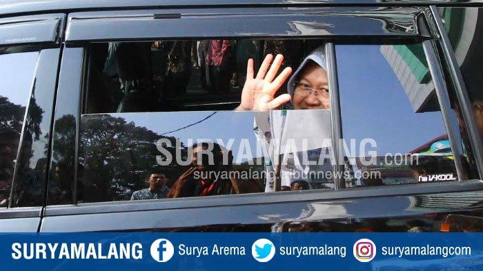 Wali Kota Surabaya Risma Datang Hanya Sebentar di Rakernas Apeksi di Kota Malang