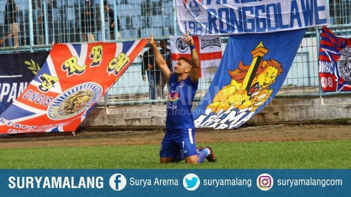 Arema FC Menghadapi Barito Putera Tanpa Robert Gladiator Dan Dua Pemain Lain Karena Cedera
