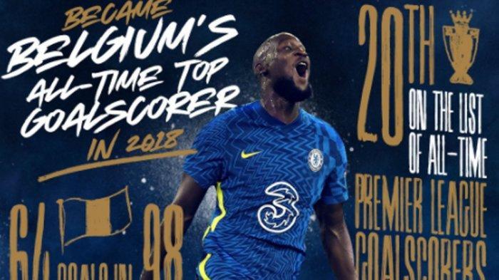 Chelsea Resmi Umumkan Romelu Lukaku Sebagai Pemain Baru, Jadi Rekor Transfer Pemain Termahal
