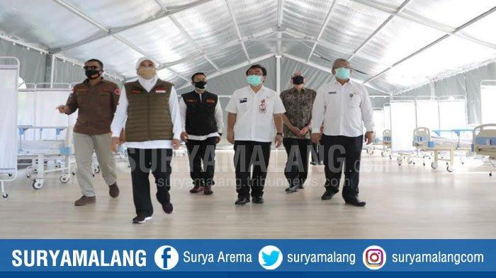 Rumah Sakit Darurat Covid-19 Jatim Siap Tampung Hingga 500 Pasien di Tenda dan Dalam Gedung