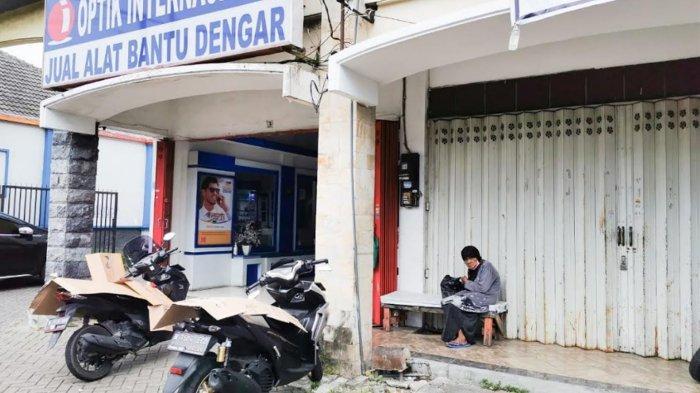 Duka Perempuan Tunawisma di Jl Borobudur Malang, Uang Simpanan Senilai Rp 9 juta Digondol Maling