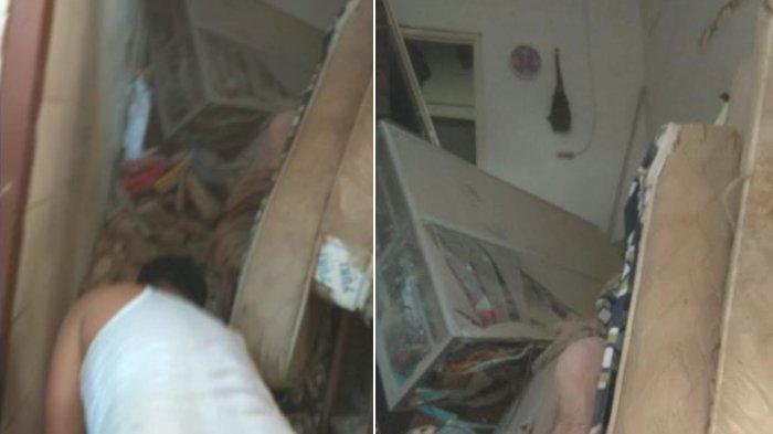 Satu Keluarga Tertimbun Reruntuhan Rumah Ambruk di Tambaksari Surabaya, Dua Orang Masih Dicari