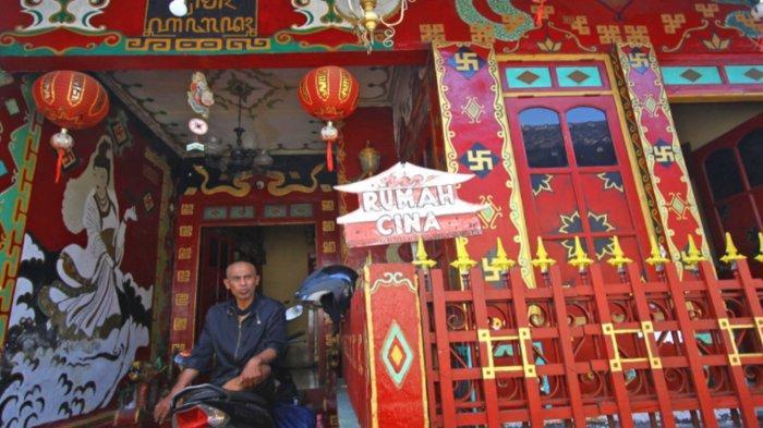 Video - Ada 'Kelenteng/Rumah Cina' di Jalan Sanan Malang, Milik Perajin Tempe Nor Hasim