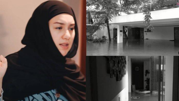 Irish Bella Lemas Rumah Barunya Tenggelam Akibat Banjir Jakarta, Kaget Lihat Ada Makhluk Terdampar