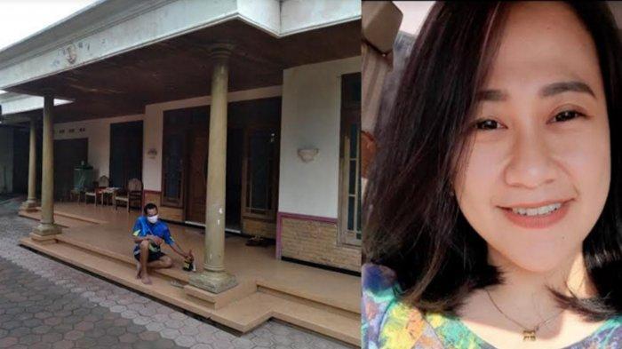 Didik Porwidiantoro selaku kakak ipar korban ketika ditemui di kediaman Eva dan suaminya pada Rabu (5/5/2021) dan Foto korban.