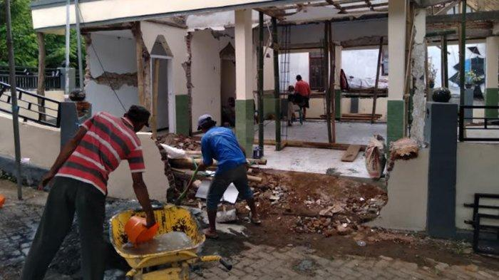 Bupati Sanusi Sanggupi Pembangunan Rumah Rusak Terdampak Gempa di Malang Rampung Sebelum Lebaran