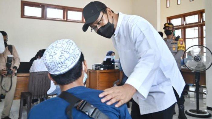 Percepat Vaksinasi Covid-19, Wali Kota Pasuruan Gus Ipul Resmikan Rumah Vaksinasi Taman Kota