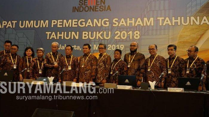 RUPS Tahunan, Semen Indonesia Pilih Pakde Karwo Jadi Komisaris Utama
