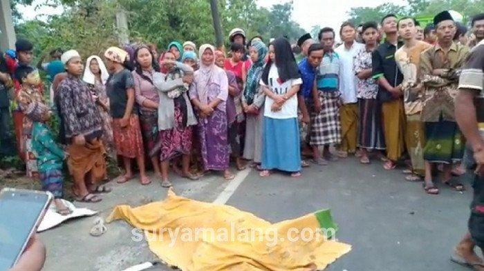 Suami Lemparkan Bom ke Istri Siri di Tepi Jalan Wilayah Pasuruan