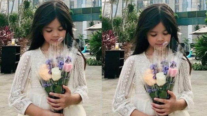 Safeea Ahmad, putri Ahmad Dhani dan Mulan Jameela