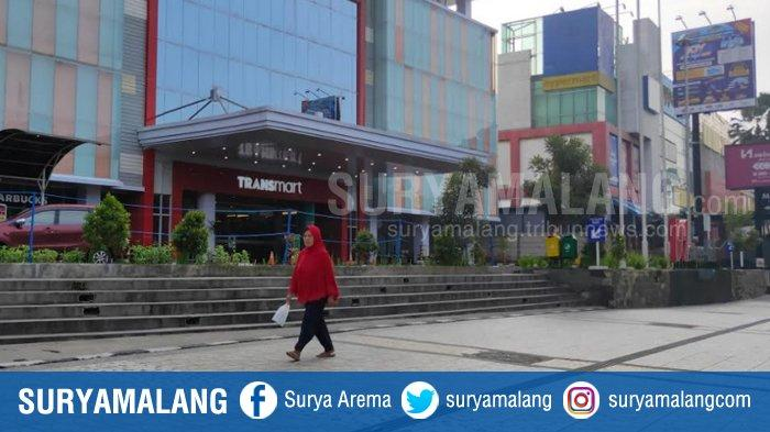 ILUSTRASI - Salah satu Mal di Kota Malang saat PSBB Malang Raya.