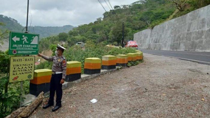 Polres Trenggalek Petakan Jalur Rawan Longsor Jelang Musim Penghujan