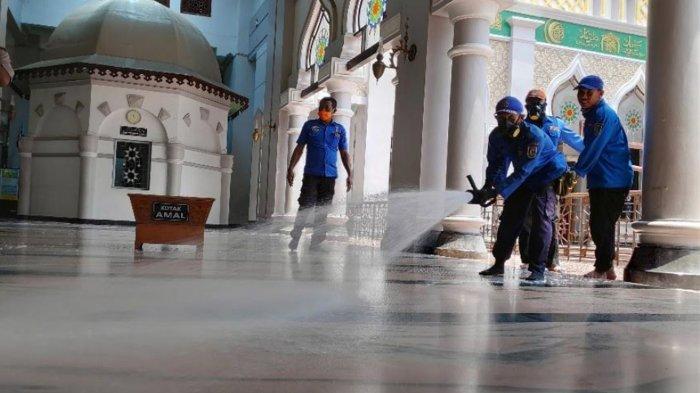 Salat Idul Fitri di Tuban Diizinkan dengan 15 Persen Kapasitas Masjid Saat Zona Orange Covid-19