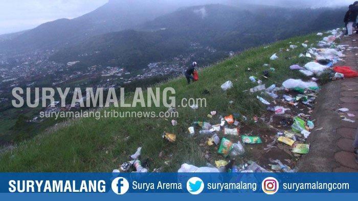 Sampah di Kota Batu Naik Sampai 20 Ton/Hari Selama Libur Akhir Tahun 2018