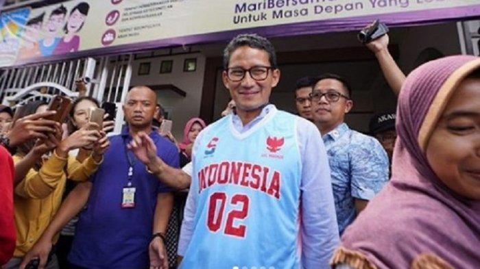 Di Mana Sandiaga Uno saat Prabowo Gelar Syukuran Kemenangan? Ada Apa Dengannya? Kok Sering 'Hilang'